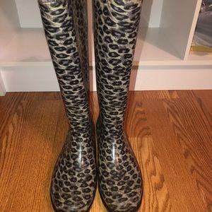 Capelli Cheetah Rain Boots!